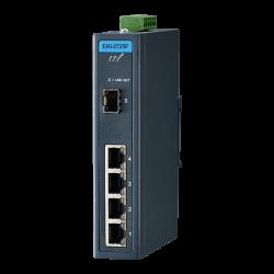 EKI-2725F-AE - 4 GE + 1 SFP Ind. Unmanaged Switch