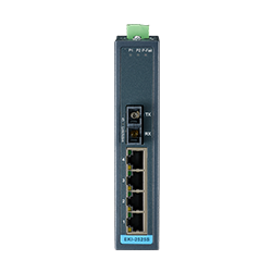 EKI-2525M-BE - 4 + 1FX Multi-Mode unmanaged Ethernet s