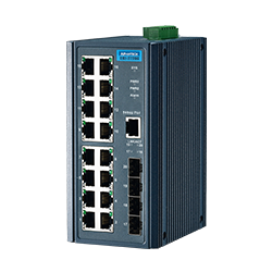 EKI-2720G-4FI-AE - 16G+4SFP Port Unmanaged Ethernet Sw Wid
