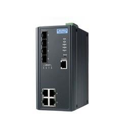 EKI-7708E-4FI-AE - 4FE + 4SFP Managed Ethernet Switch Wide
