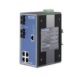 EKI-7554SI-AE - 4+2 100FX Port S.M. Managed Switch(Wide