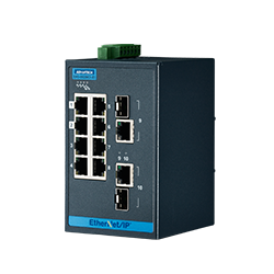 EKI-5629CI-EI-AE - 8FE+2G Ind. Switch with EtherNet/IP