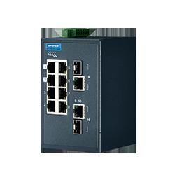 EKI-5629CI-MB-AE - 8FE+2G Ind. Switch with Modbus TCP/IP
