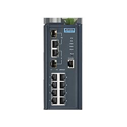 EKI-7710E-2C-AE - 8FE + 2G Combo Managed switch