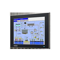 "FPM-7121T-R3AE - 12.1"" XGA Ind Monitor w/Resistive TS (V"