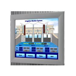 """FPM-2170G-R3BE - 17"""" SXGA Ind. Monitor w/Resistive TS (R"""