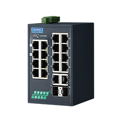 EKI-5626CI-PN-AE - 16FE+2G Ind. Switch with PROFINET