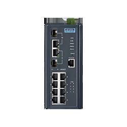 EKI-7710E-2CP-AE - 8FE + 2G Combo Managed POE+ switch