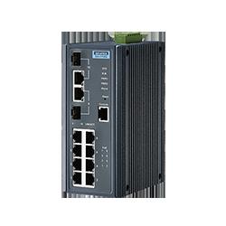 EKI-7710G-2CPI-AU - 8G + 2G Combo Managed POE+ switch w/Wid
