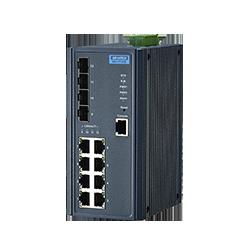 EKI-7712E-4FI-AE - 8FE + 4SFP Managed Ethernet Switch Wide