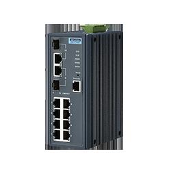 EKI-7710G-2CI-AE - 8G + 2G Combo Managed switch w/Wide temp