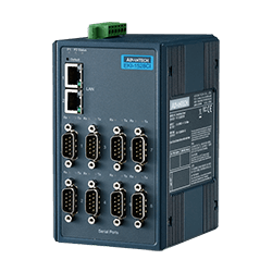 EKI-1528CI-DR-AE - 8-port Serial Device Server with wide t