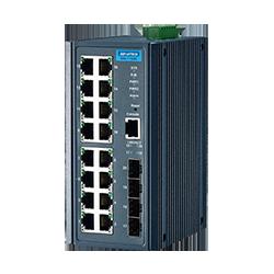 EKI-7720E-4FI-AE - 16FE+4SFP Port Managed Ethernet Switch