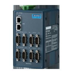 EKI-1228CI-DR-AE - 8-port Modbus Gateway with Wide Temp. a