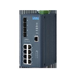 EKI-7712G-4FPI-AE - 8G+4SFP with POE wide temp
