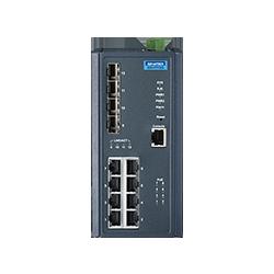 EKI-7712G-2FVP-AE - 8G+2SFP+2VDSL Managed Sw with POE