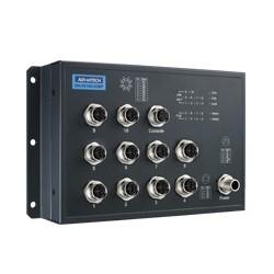 EKI-9510G-2GMPH-AE - EN50155 M12 8GE PoE + 2G Managed SW