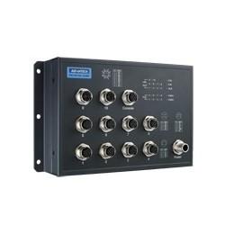 EKI-9510E-2GMPH-AE - EN50155 M12 10FE PoE + 2G Managed SW
