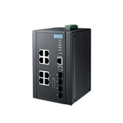 EKI-7712G-4FMPI-AE - 8G+4SFP with Mega PoE Wide Temp