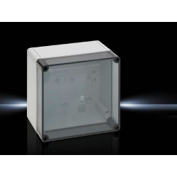 9518100 - PK Caja de policarbonato Tapa Transparente